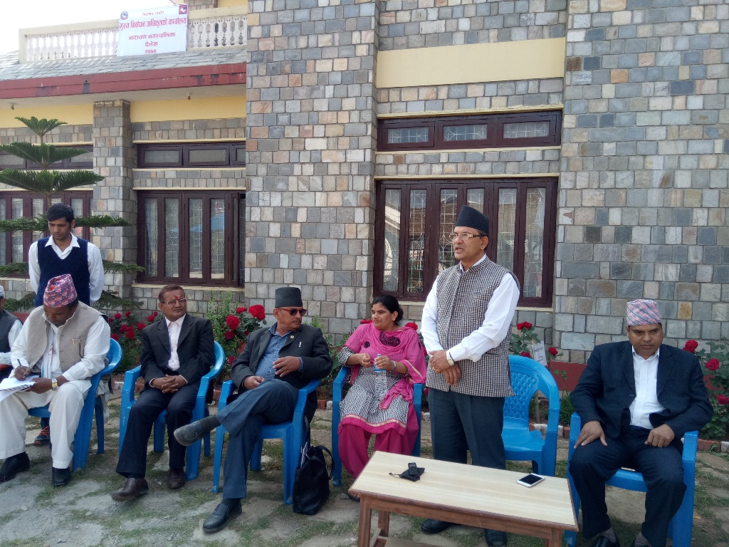 News in Mukhkhe Narbacha office (1)